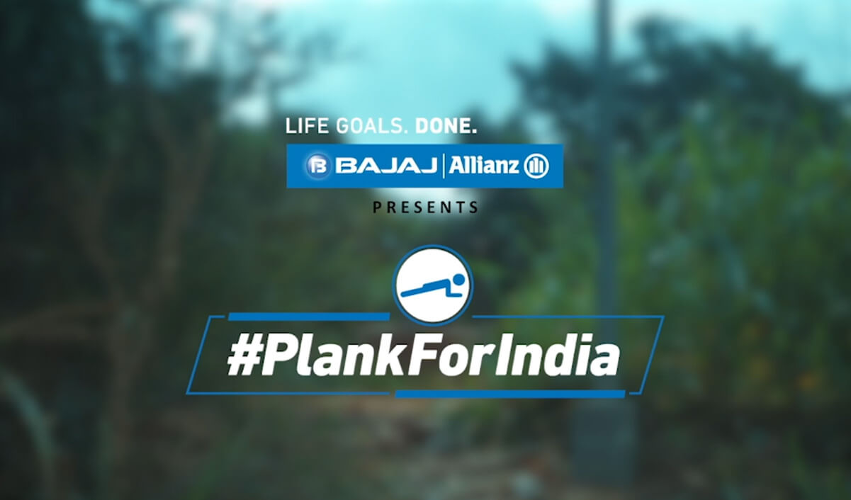 #PlankForIndia - Take The Plank Challenge